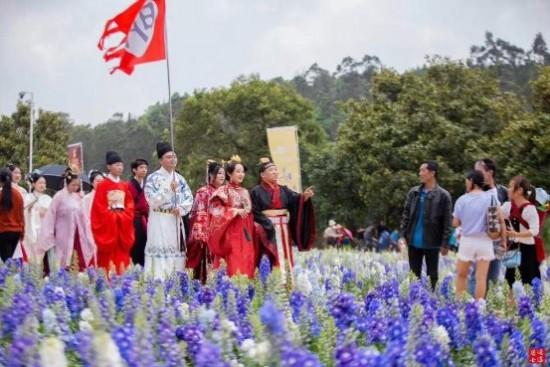 昆明世博會20歲生日——漢服表演秀,在園林中穿越了