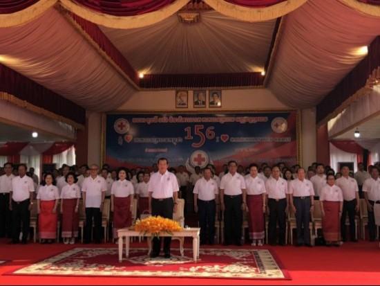 太子地产集团善捐60万美元支持柬埔寨红十字会人道主义工作