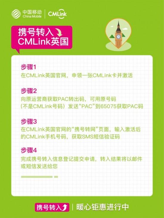 海外华人手机用户,「CMLink-携号转网-指南来了」